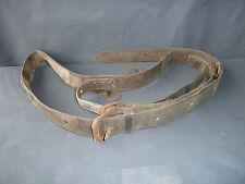 ancienne harnais d'équitation en cuir art populaire  French antique old saddler