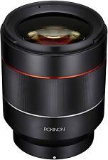 Rokinon IO50AF-E AF 50mm F1.4 Full Frame Auto Focus Lens for Sony E-Mount