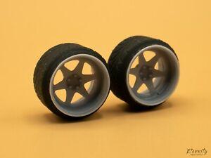 1/24 19 inch 326 Power Yabaking 3D Print Wheels US SELLER!