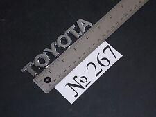 03-09 Toyota 4Runner Rear Trunk Emblem Logo Sign Sticker Decal Emblems