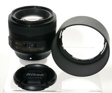 Nikon AF-S Nikkor 85mm F/1,8 G Tele Objektiv wie neu!