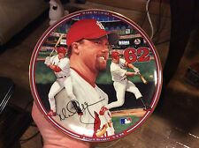The Bradford Exchange Record Breaker 1st Issue in Mark McGwire: Hr Hero Plate