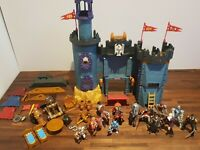Vintage Fisher Price Imaginext Medieval Castle 2001 + Accessories & Papo Knights