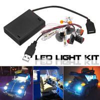 LED Light Lighting Kit ONLY For Lego 10252 Volkswagen Model Bricks Set E ☍