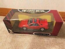1:18 Road Signature Red 1985 Pontiac Fiero GT 1980s 80s Yat Ming Mid Engine