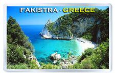 FAKISTRA GREECE FRIDGE MAGNET SOUVENIR IMAN NEVERA