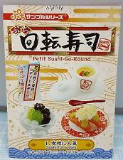 Miniatures Sushi Go Round Sushi Bar Set No.1, 1pc - Re-ment  ,  , h#1