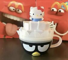 McDonalds 2017 HELLO SANRIO Kitty #6 BADTZ MARU CREAMER Happy Meal Toy - New WoW