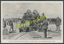 Schutztruppe DSWA Artillerie Feldbahn Schmalspur Swakopmund Hereroaufstand 1905
