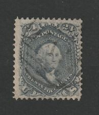USA 1861 Scott # 78b grey vf used