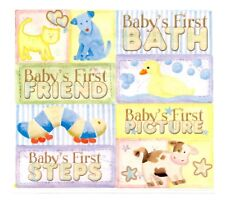 Baby's First Stickers Bath Friend Picture Steps Scrapbook Cow Dog Cat Duck New