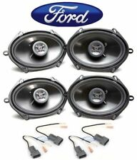 Front Rear Hifonics Speaker Replacement Kit For 1994 1997 Ford Ranger