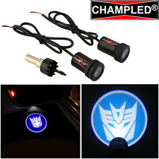 LED Projector Logo Emblem symbol badge Under Door Step courtesy Car TRANSFORMERS