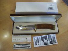 "LIMITED EDITION BUCK KNIFE 191 BCCI ""1 of 160"" ~ 1995 MINT BEAUTY"