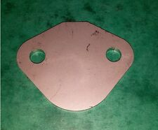 STAINLESS Fuel Lift Pump Blank Plate - BMC 1.5 1.8 Diesel Springer Narrow Boat