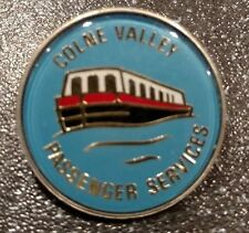 Colne Valley Passenger Services Acrylic and Metal Pin Badge (Blue)
