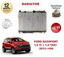 FOR FORD ECOSPORT 1.5 Ti 1.5 TDCi 2013 >ON NEW RADIATOR UNIT
