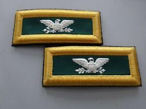 A6-134 US Rangabzeichen Colonel Special Forces Shoulder Straps älter !