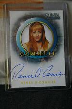 Rittenhouse XENA Season 6 Auto Autograph A12 Renee O'Connor as Gabrielle
