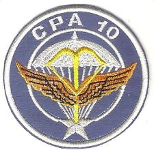 France Air Force Commando CPA 10 Orleans Airbase Para Commando de l'Air 9.5 cm