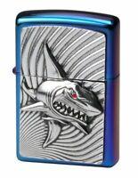 ZIPPO Limited Shark Hai Feuerzeug im Sammlerrahmen lighter limitiert 500 Stk.