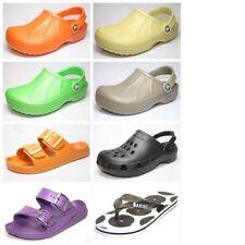 Sandali e scarpe multicolori marca Crocs per il mare da donna piatto ( meno di 1,3 cm )