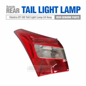 Genuine Parts Rear Tail Light Lamp Outside LH for HYUNDAI 2013-16 Elantra GT i30