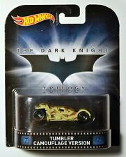 Hot Wheels Retro Entertainment Tumble Camouflage Version Batman The Dark Knight