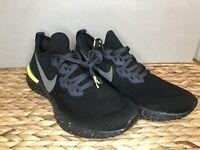 Nike Epic React Flyknit 2 SE Men Running Shoes CI6443 001 Black Sequoia SZ 10.5