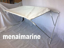 RIB / BOAT BIMINI CANOPIES INCLUDES RUBBER FEET ADJUSTABLE WIDTH 120cm to 140cm