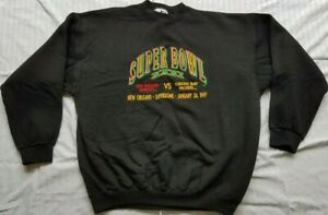 1997 Super Bowl XXXI New Orleans Superdome Sweatshirt - Green Bay Packers