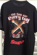Snap On Tools Collectable The Tool For Every Toy Black OCC Tee SIZE LARGE