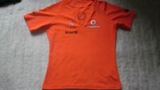 MCLAREN MERCEDES LADIES RACING SHIRT SIZE MEDIUM VERY RARE MUST L@@K!!!