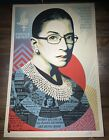 """Shepard Fairey Obey Giant """"A Champion Of Justice"""" Art Print Poster XX/500 RBG"""