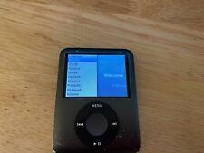 Apple iPod Nano 3G 8GB MP3 Player, Black