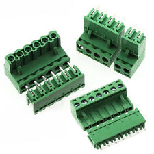 2~12P PCB Terminal Block 2EDG5.08 Right Angle/Straight Pin Plug-in Connector Set