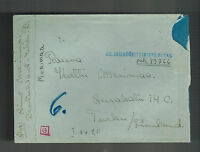 1941 Germany Finland Volunteer Waffen SS Feldpost Cover to Turko