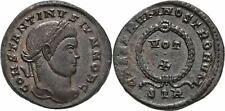 Follis 320 ca. RÖMISCHE KAISERZEIT Trier Constantin II., 317-340 #MUI136