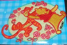 Disney Winnie The Pooh Tigger Dancing Embroidered Patch Applique Motif Iron On