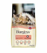 Burgess Active Dry Cat Food - Salmon - 10kg