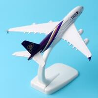 Air Thai A380 Airlines Aircraft Airbus 380 Airway Airplane Model Alloy Metal New