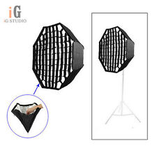 Photo 80cm/32in  Umbrella Octagon Softbox with Grid For SpeedLight/Flash Softbox