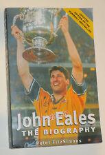 John Eales (Australian Wallabies Legend) signed Autobiography + COA /photo proof