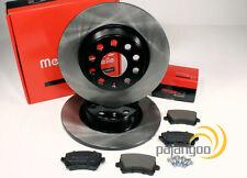 Audi A3 8P - Metzger Bremsscheiben Bremsbeläge Bremsen für hinten Hinterachse