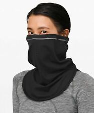 New Unisex Lululemon Cross Chill Neck Warmer Face Mask - Reflective - Black