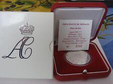 monaco coffret 10 euros be argent 2011 MARIAGE PRINCIER