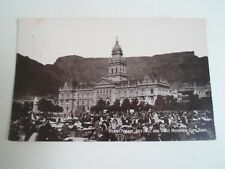 Old Postcard Grand Parade, City Hall+Table Mountain, Cape Town S. Africa §A1087