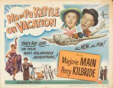 MA AND PA KETTLE AT THE FAIR Movie POSTER 22x28 Half Sheet Marjorie Main Percy