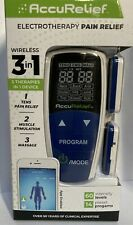 AccuRelief Wireless Tens Unit EMS Muscle Stimulator TENS Machine FREE SHIPPING