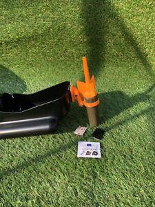 Nash Bushwhacker Baiting Pole Fish Spy Camera Mount Only, Orange Mount Kit